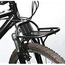Cycling Carrier And pannier racks Bike Bicycle Aluminum Alloy Front Rack Panniers Bag Bracket