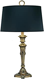 product image for 1-Light Desk Lamp Burnished Brass
