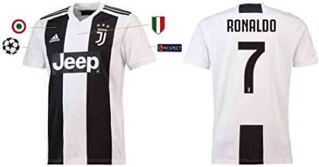 On the verge Sloppy Banyan  Juventus Maglia Ronaldo Home 2018-19 Adidas Adulto e Bambino: Amazon.it:  Sport e tempo libero