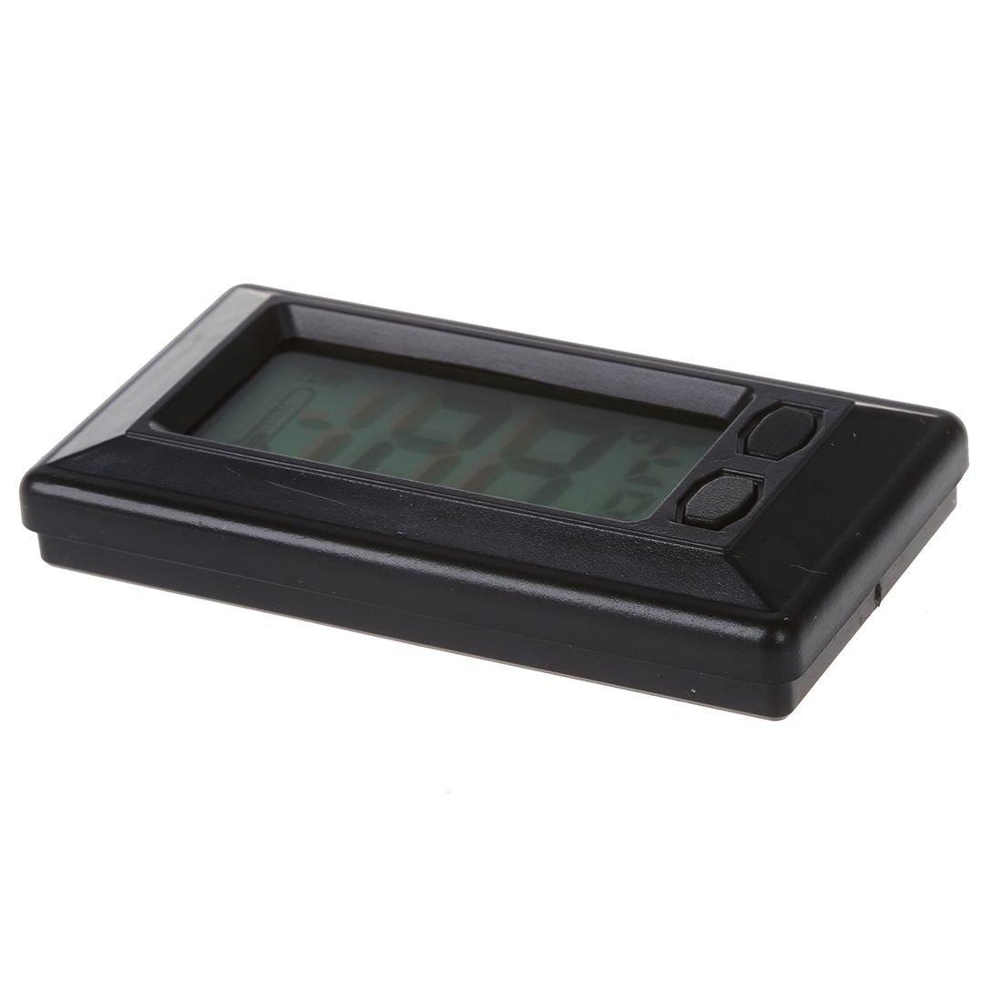 Display LCD CUHAWUDBA Termometro Digitale per Interni Auto