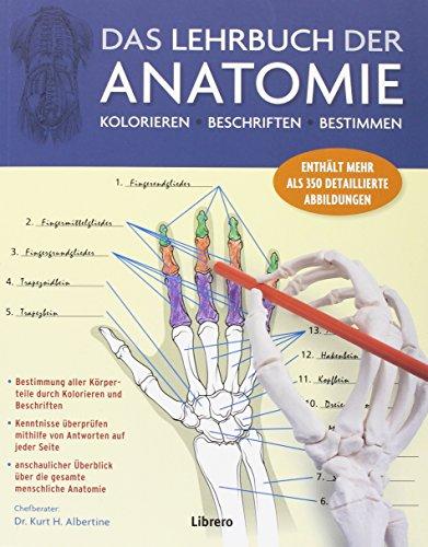 Das Lehrbuch der Anatomie: Kolorieren Beschriften Bestimmen pdf ...