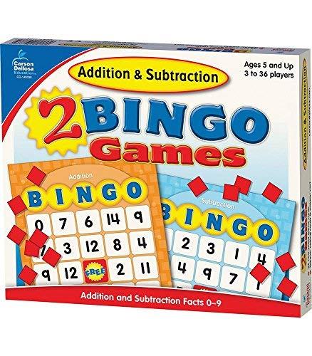 [Addition and Subtraction Bingo] [Author: Carson-Dellosa Publishing] [September, 2008] Carson Dellosa Addition Bingo