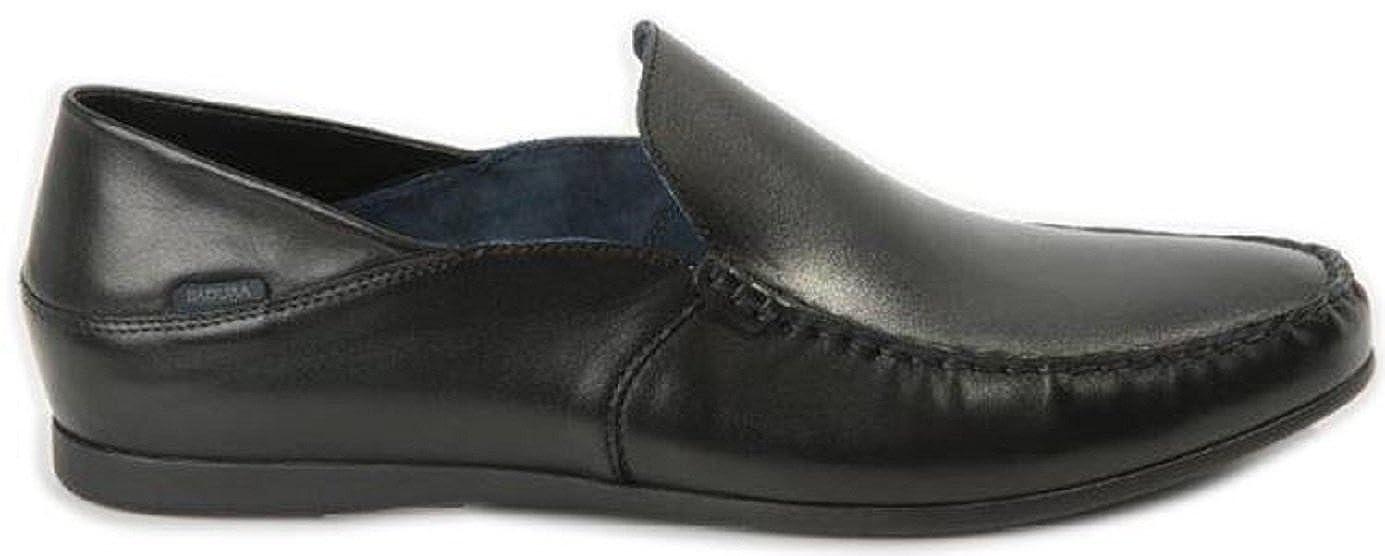 Badura Herren Mokassins  in der schwarzez Farbe  Mokassins  3151 698 f6f0d4
