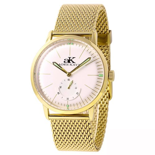 Adee Kaye Men's Adore Japan Movement Watch AK9044-MG
