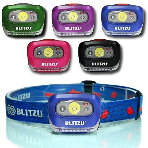 Blitzu Waterproof Headlamp Light Sapphire