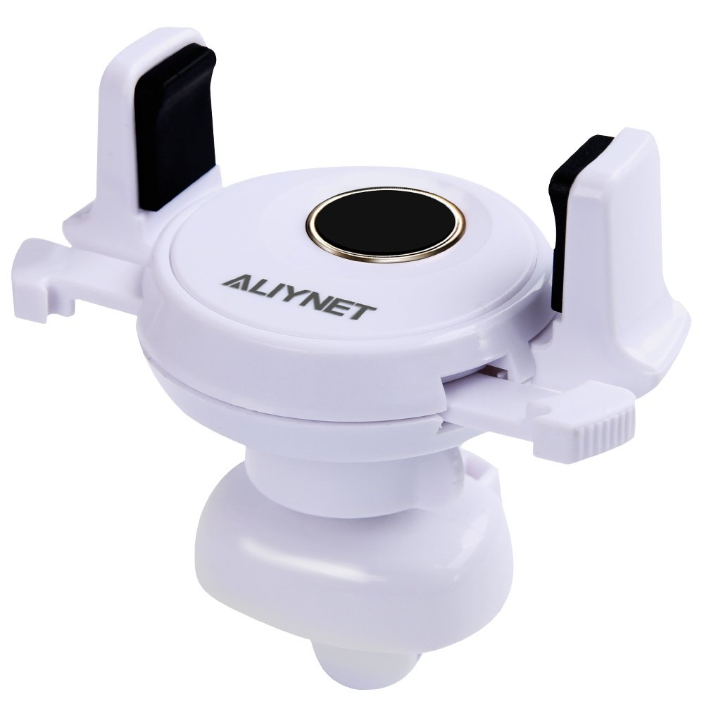 Aliynet Car Phone Holder,Vent Car Phone Mount,Car Vent Mount with 360/°Rotation Air Vent Cell Phone Holder/for iPhone X,iPhone 8 Plus//8,iPhone Series,Samsung Series and More Smartphone Black 4336707825