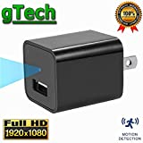 Hidden Camera USB Wall Charger 1080P - by GTECH | Latest 2017 Version | 32GB Internal Storage | Spy Cameras Hidden Cameras Nanny Cam Motion Detection