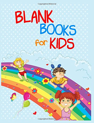 Blank Books For Kids: 8.5 x 11, 108 Lined Pages (diary, notebook, journal, workbook)