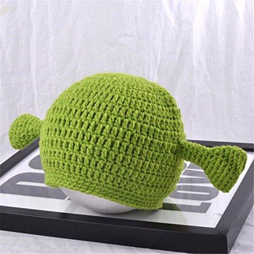 Punto Moda OSISDFWA De Punto Gracioso Sombreros Centavos Verde Gorros Sombrero De waqO7qt