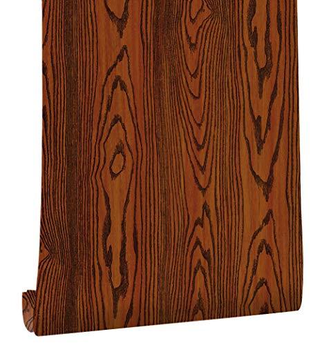 Vintage Rose Wallpaper - HAOKHOME H027 Ultra Honny Oak Wood Sticker 23.6