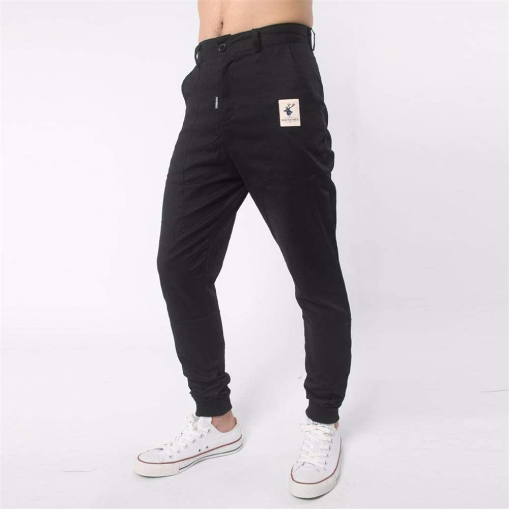 Black-Medium Ms lily Casual Jogger Pants Sport Baggy Sweatpants