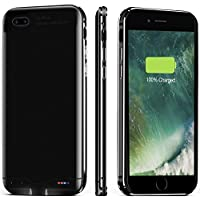 iPhone 7/8 Battery Case, Ultra Slim Extended Battery Charger Case for iPhone 7/8, 3000mAh Backup Power Bank iPhone 8/7 Charger Case, Protective Battery Case Portable Charging Case for Smartphone