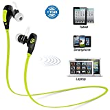 Captcha Bluetooth Stereo Sound Sweat Proof Q-55 Sports Headphones With Mic for All Devices (Color may vary)