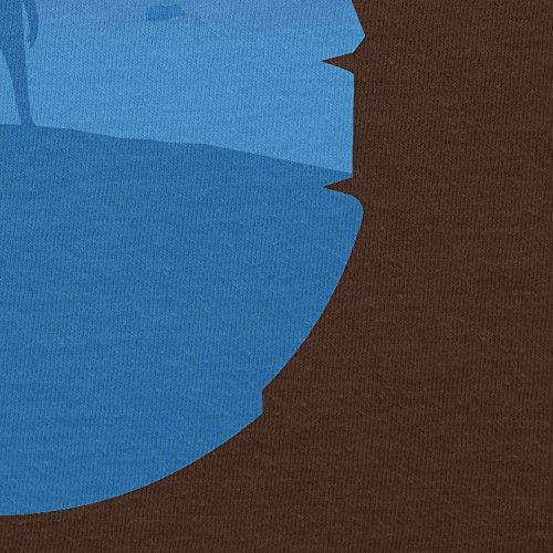 TEXLAB - Falcon View - Damen T-Shirt, Größe L, braun