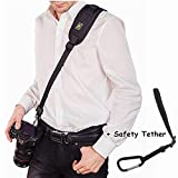 Camera Strap, Wristel Cross-body Rapid Action Quick Release Neck Shoulder Strap for Canon Nikon Sony Cameras