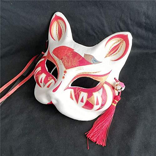 Halloween Pintado A Mano Máscara De Zorro Han Traje De Tiro ...