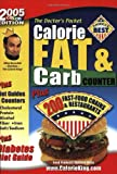 The Doctor's Pocket Calorie, Fat & Carb Counter