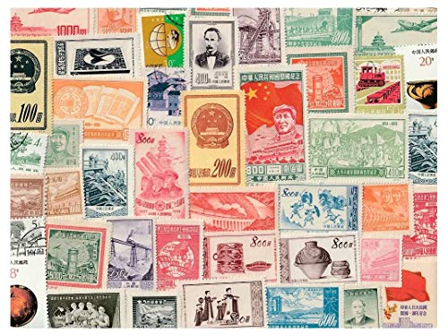 China : 100 Different Stamps Collection Mixture Packet Stamps for Collectors