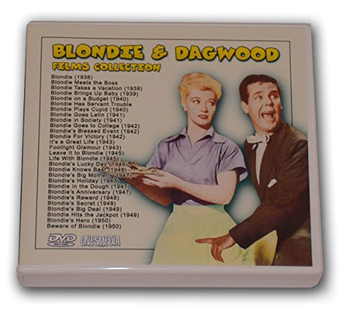 BLONDIE AND DAGWOOD FILMS COLLECTION - 14 DVD-R - 28 FILMS]()