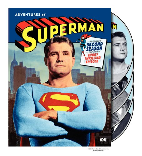 DVD : Adventures of Superman: The Complete Second Season (Black & White, , Digipack Packaging, Standard Screen, 5 Disc)