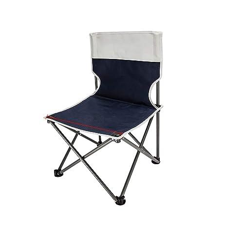 WJP Silla de Camping portátil, sillas de jardín Plegables ...
