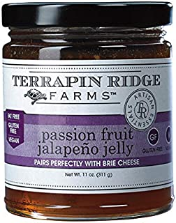 product image for Passion Fruit Jalapeno Gourmet Jelly by Terrapin Ridge Farms – One 11 oz Jar