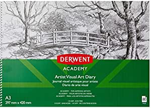 Derwent Academy A3 Landscape Drawing Pad (80 Pages)
