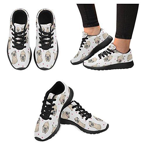 Interestprint Mujeres Jogging Running Sneaker Ligero Go Easy Walking Casual Deportes Zapatos Corrientes Para Mujeres Multi 12