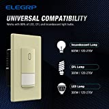 ELEGRP Occupancy Sensor Light Switch, PIR Infrared