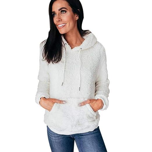 34abfa4902 Amazon.com: Teddy Coat!Teddy Bear Coat, Women Warm Fluffy Winter Top ...