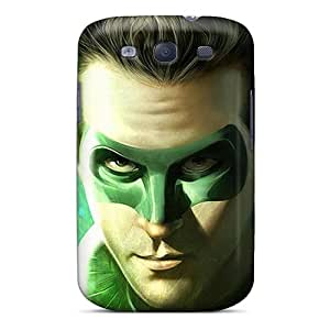 New Galaxy S3 Case Cover Casing(green Lantern)