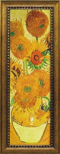 名画 ミュージアム シリーズ LLサイズ ゴッホ「ひまわり」/ 絵画 壁掛け のあゆわら B009ZCAWA2