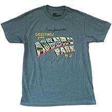 Bruce Springsteen Greetings Asbury Park Blue T Shirt Soft Album Art