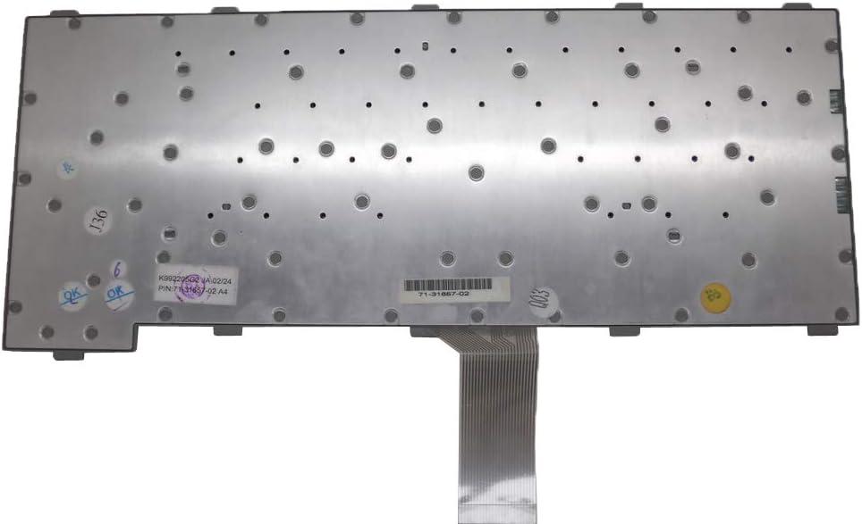 Laptop Keyboard for NEC VersaPro VA86//HD VA86//J VA80//H VA86//H K992205G2 JA 71-31657-02 Gray New and Original