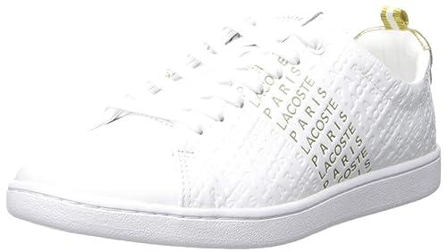 innovative design 0fe74 d5d90 Lacoste Women's Carnaby Evo Sneaker