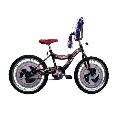 Micargi Dragon Cruiser Bike, Black, 20-Inch
