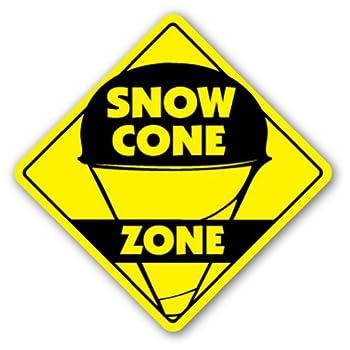 SNOW CONE ZONE Sign snowcone sno kone concessions fair
