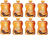 Mamma Chia Squeeze Vitality Snack Chia Squeeze – Mango Coconut [8 Pack]
