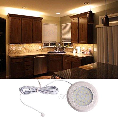 Hot kitchen under cabinet light home under cabinet 24 smd for Kitchen spotlights amazon