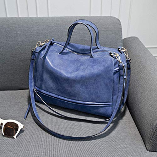 a Moontang Dimensione per a Rose Borsa Frosted Matte donna Dark tracolla in Colore pelle Red locomotiva spalla Blue 6865p