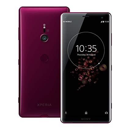 Sony Xperia XZ3 (H9493) 6GB / 64GB 6 0-inches LTE Dual SIM Factory Unlocked  - International Stock No Warranty (Bordeaux Red)