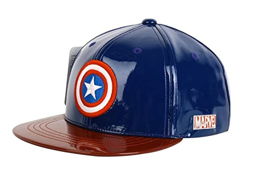 Image Unavailable. Image not available for. Color  Marvel AUTHENTIC Captain  America SNAPBACK Bboy HATS ... 3f17c8e6e351