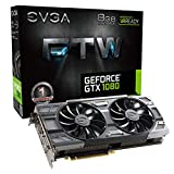 PC Hardware : EVGA GeForce GTX 1080 FTW GAMING ACX 3.0, 8GB GDDR5X, RGB LED, 10CM FAN, 10 Power Phases, Double BIOS, DX12 OSD Support (PXOC) Graphics Card 08G-P4-6286-KR