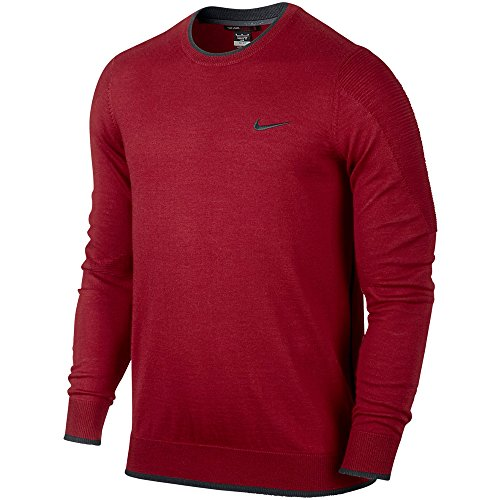Nike TW Engineered 2.0 Golf Sweater 2015 Gym Red/Anthracite Large
