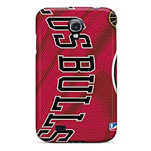 Protector Hard Cell-phone Case For Samsung Galaxy S4 (gwa7774ZtjV) Customized Attractive Chicago Bulls Pictures