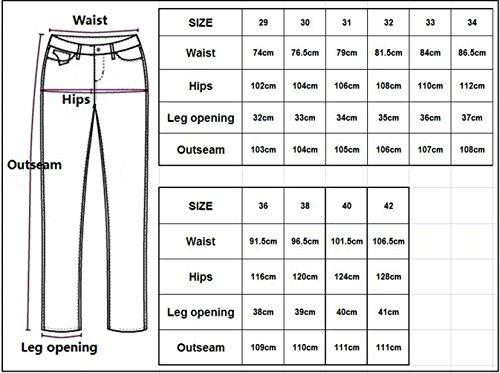 Tt Denim Mens Déchiré Hommes Neuf Jeans Pants Mode Stretch Distressed Destroyed Pantalon Fit Global Décontractée Slim Bleu Pantalons Patché rwqCXarx