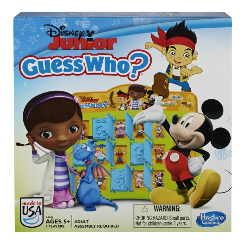 Disney Jr Guess WhoGame - mystery solving guessing fun