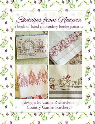 Sketches From Nature A Book Of Hand Embroidery Border Patterns