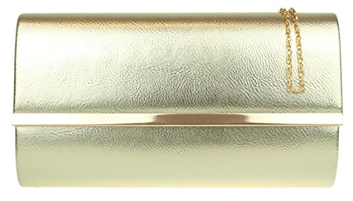 Girly Handbags - Cartera de mano para mujer dorado - dorado