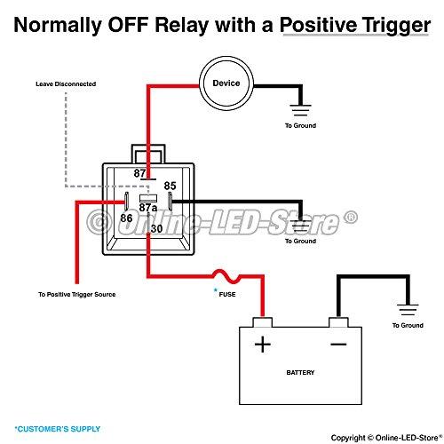 new ols 40  30 amp waterproof relay switch harness set